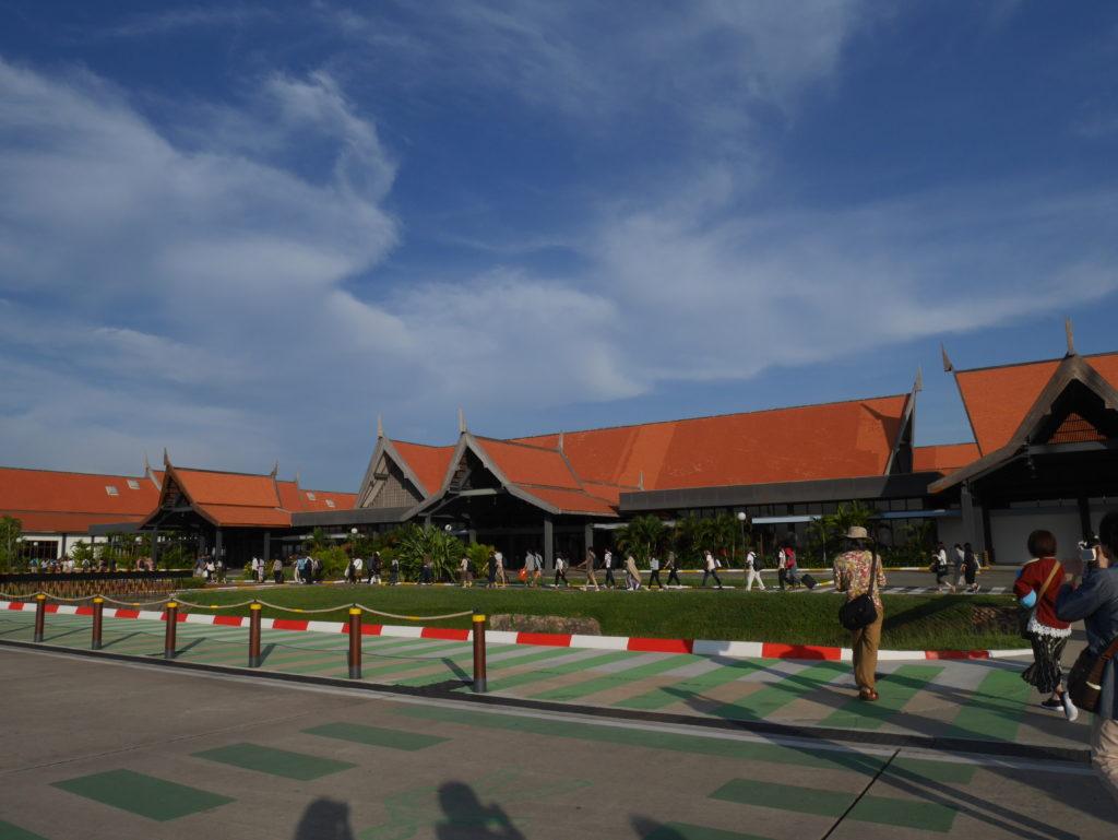 アンコールワット旅行記①カンボジアのシェムリアップへ