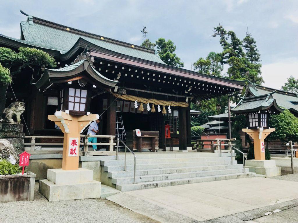 【健軍神社(熊本県)御朱印】交通安全・子授けいちょうがすごい!
