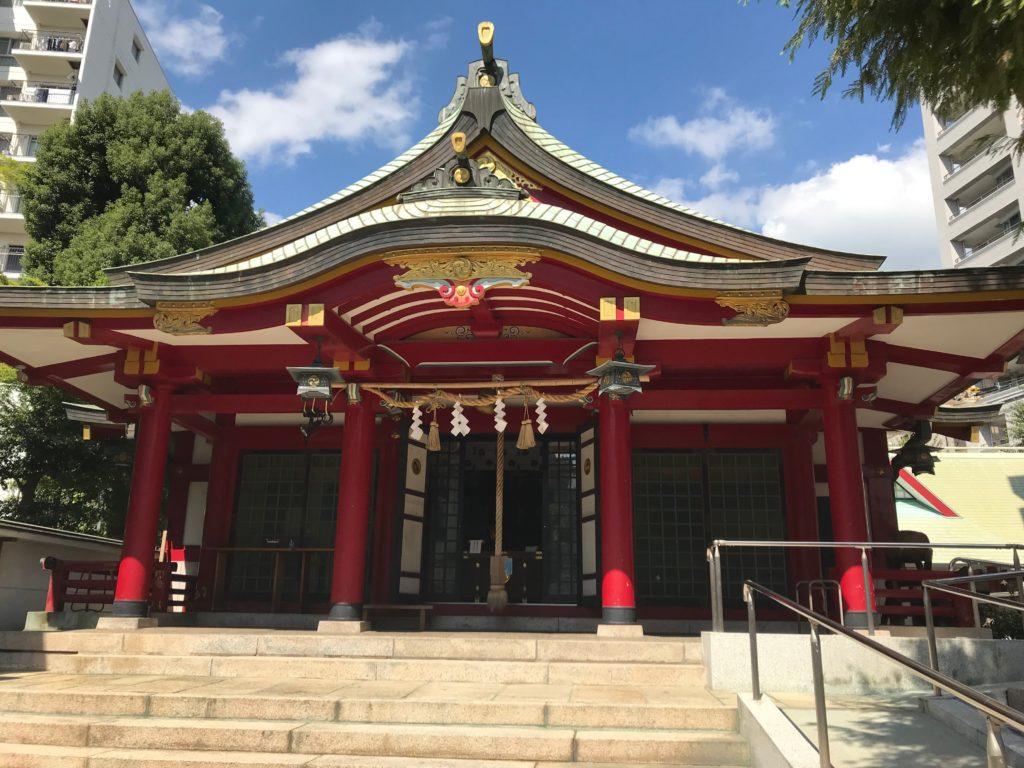 【二宮神社(神戸)御朱印】嵐の聖地?金運アップのパワースポット