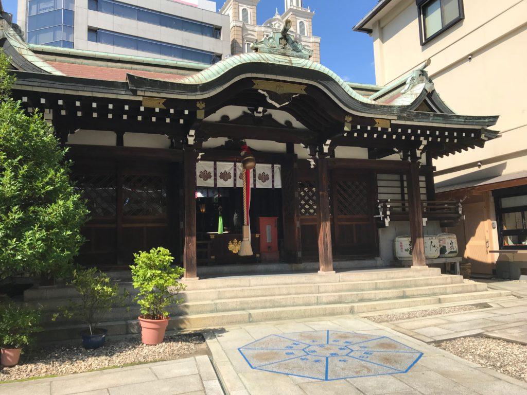 【三宮神社(神戸)御朱印】神戸中心地にある癒しの神社