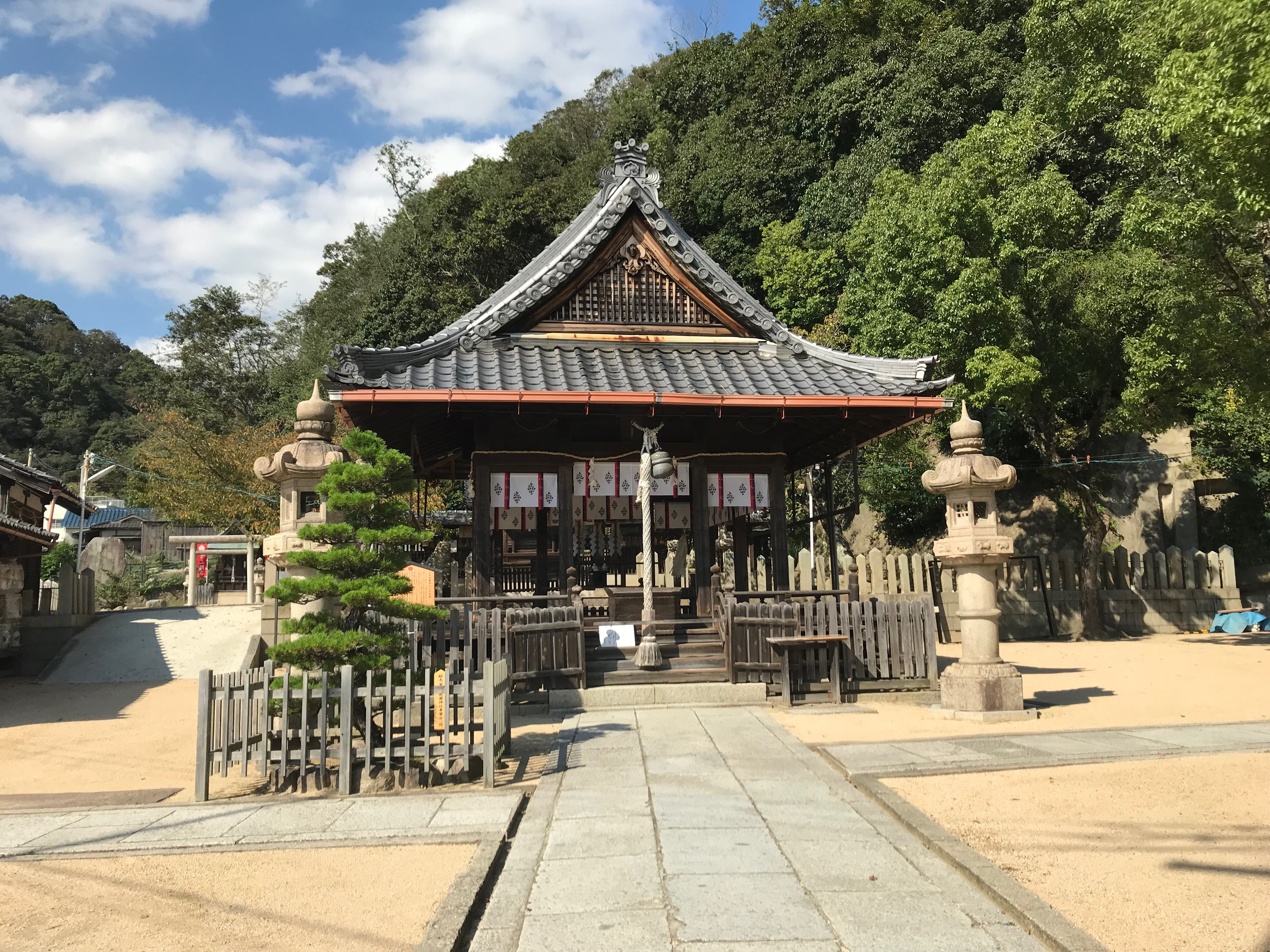 【七宮神社(神戸)御朱印】神戸駅近くの神社巡り♬稲荷神社も参拝