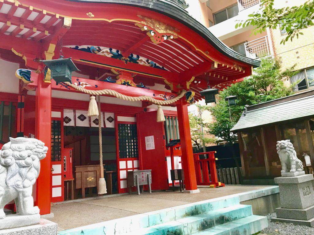 【四宮神社(神戸)御朱印】花の挿絵が素敵すぎる!女性におすすめ