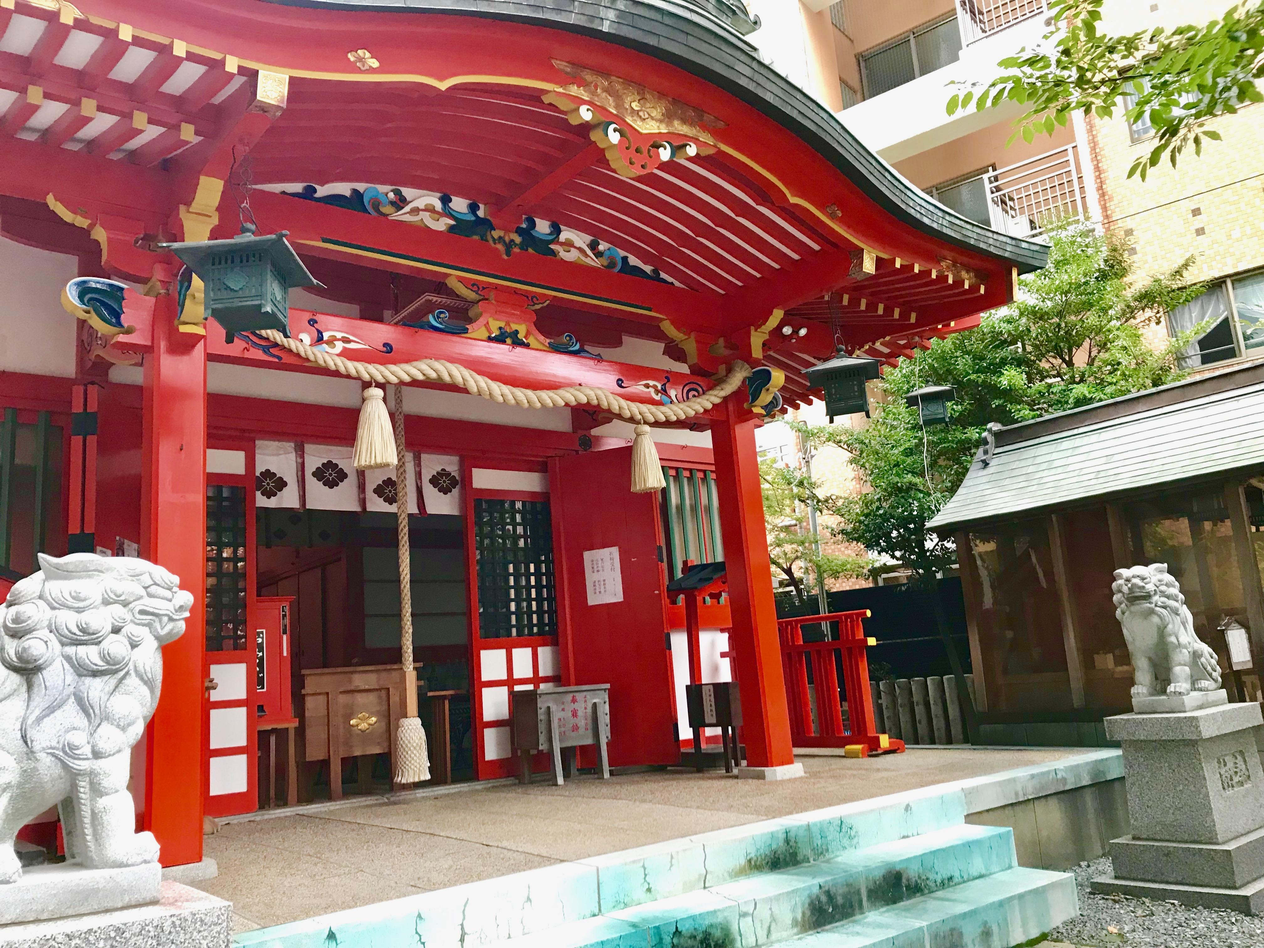 【生田神社(神戸)御朱印】縁結びのご利益がすごい!可愛い御朱印帳
