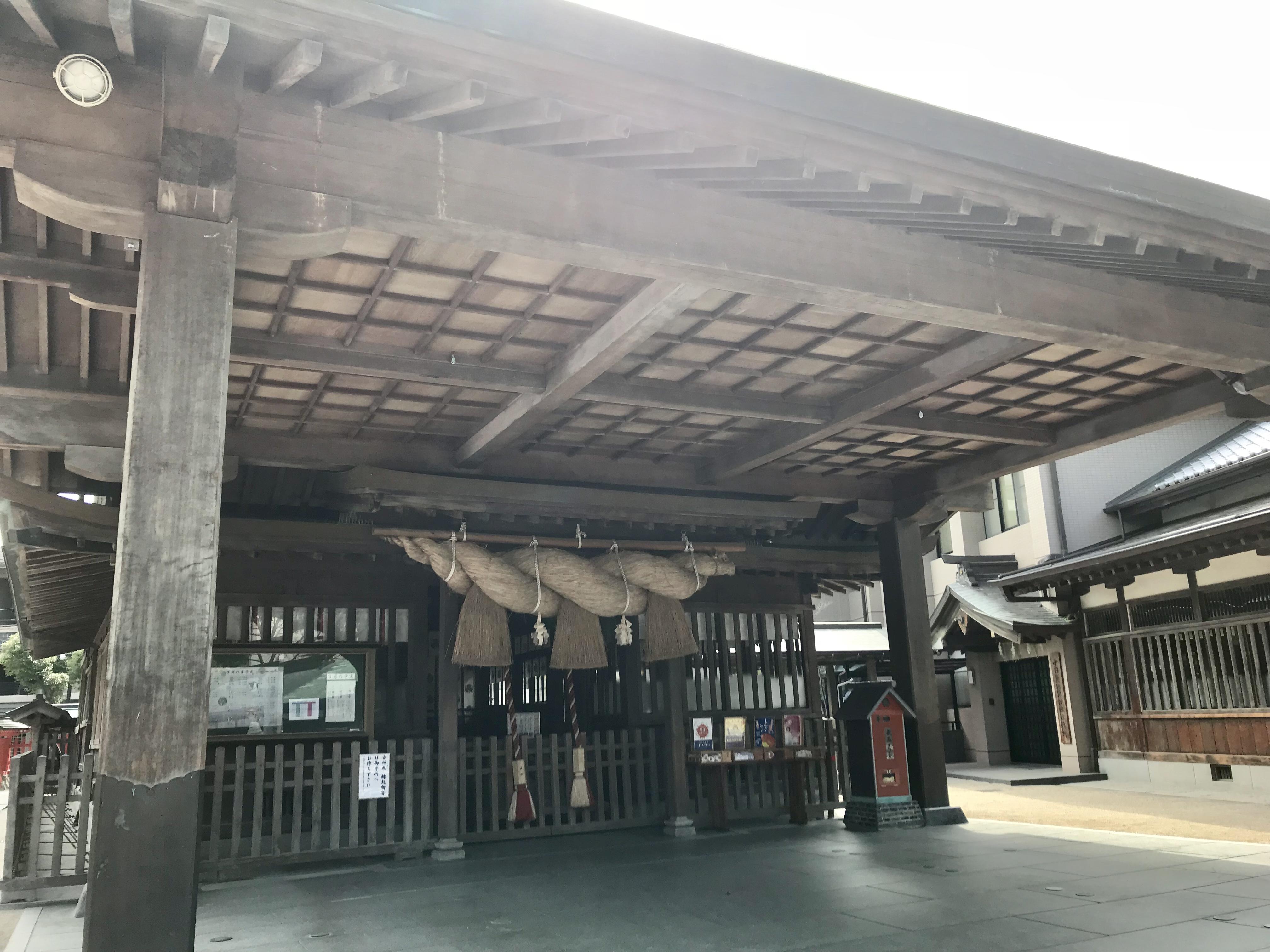 福岡十日恵比寿神社で御朱印巡り