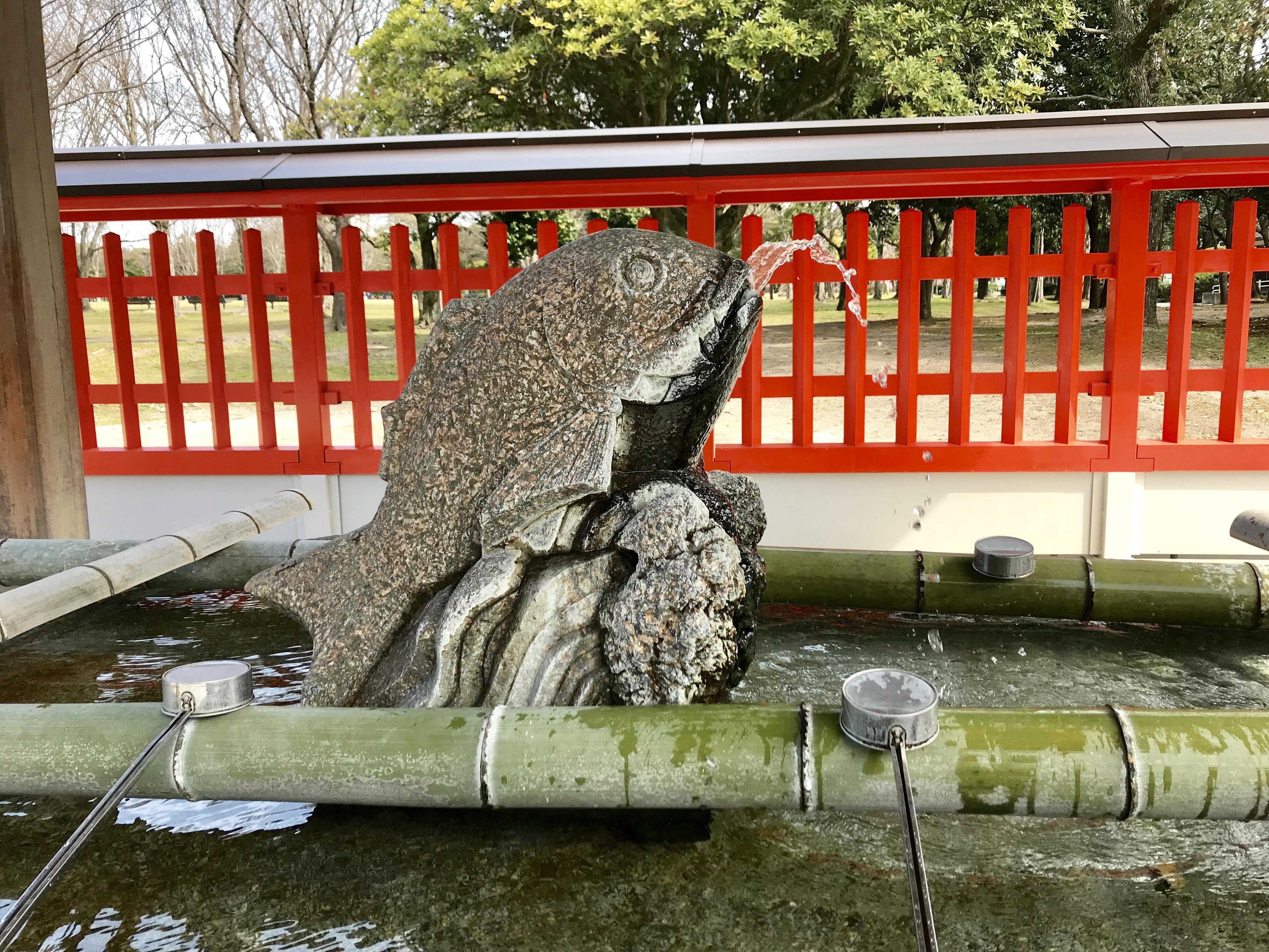 福岡市の珍しい手水社