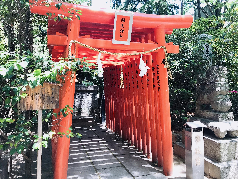 空鞘稲生神社の稲生神社