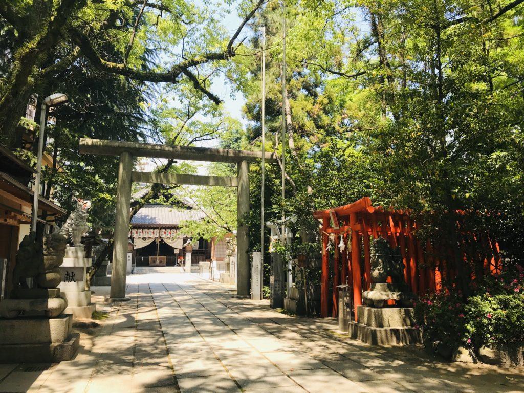 【空鞘稲生神社(広島)御朱印】五穀豊穣!お守り自動販売機がある神社