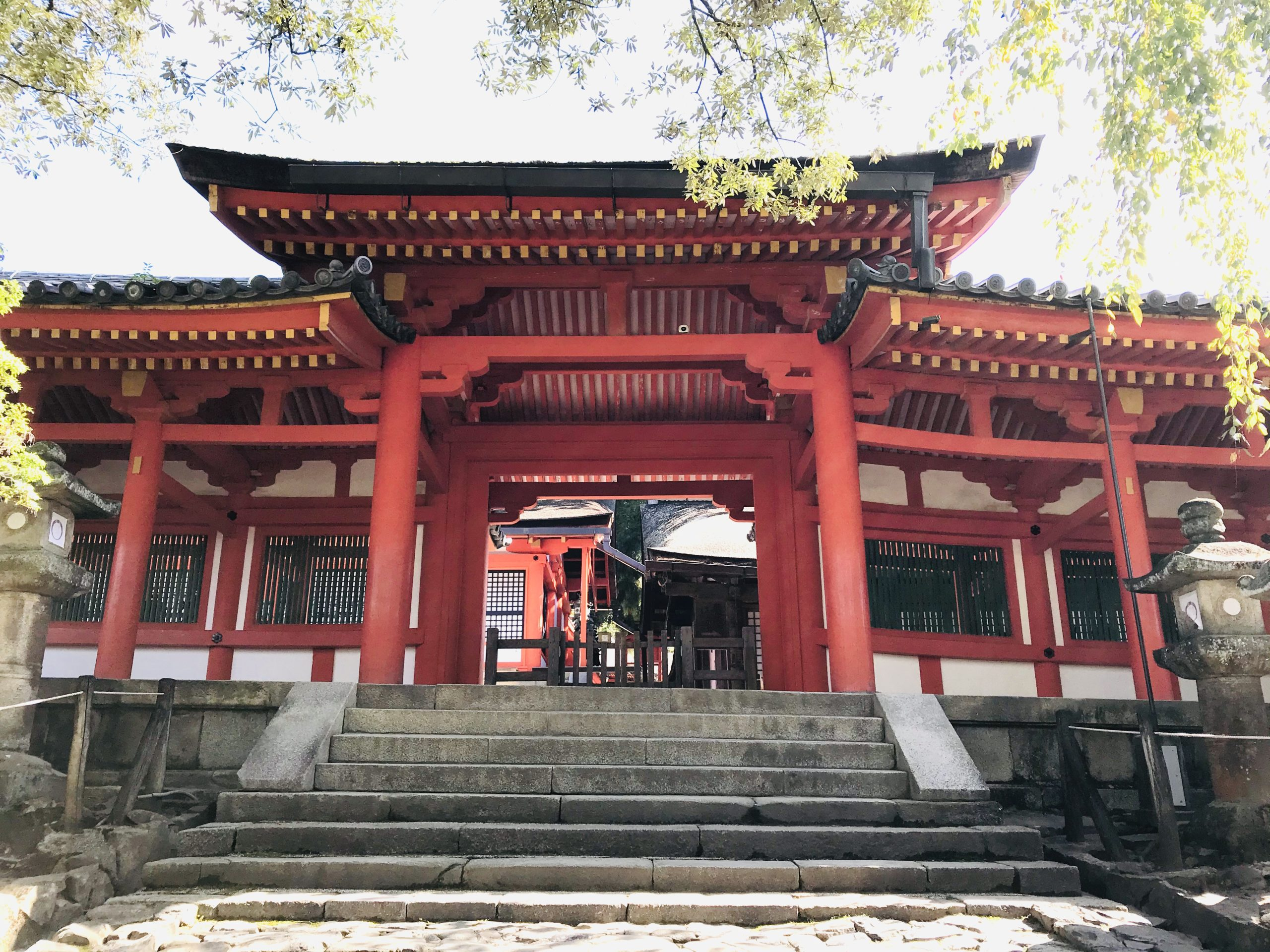 春日大社の門