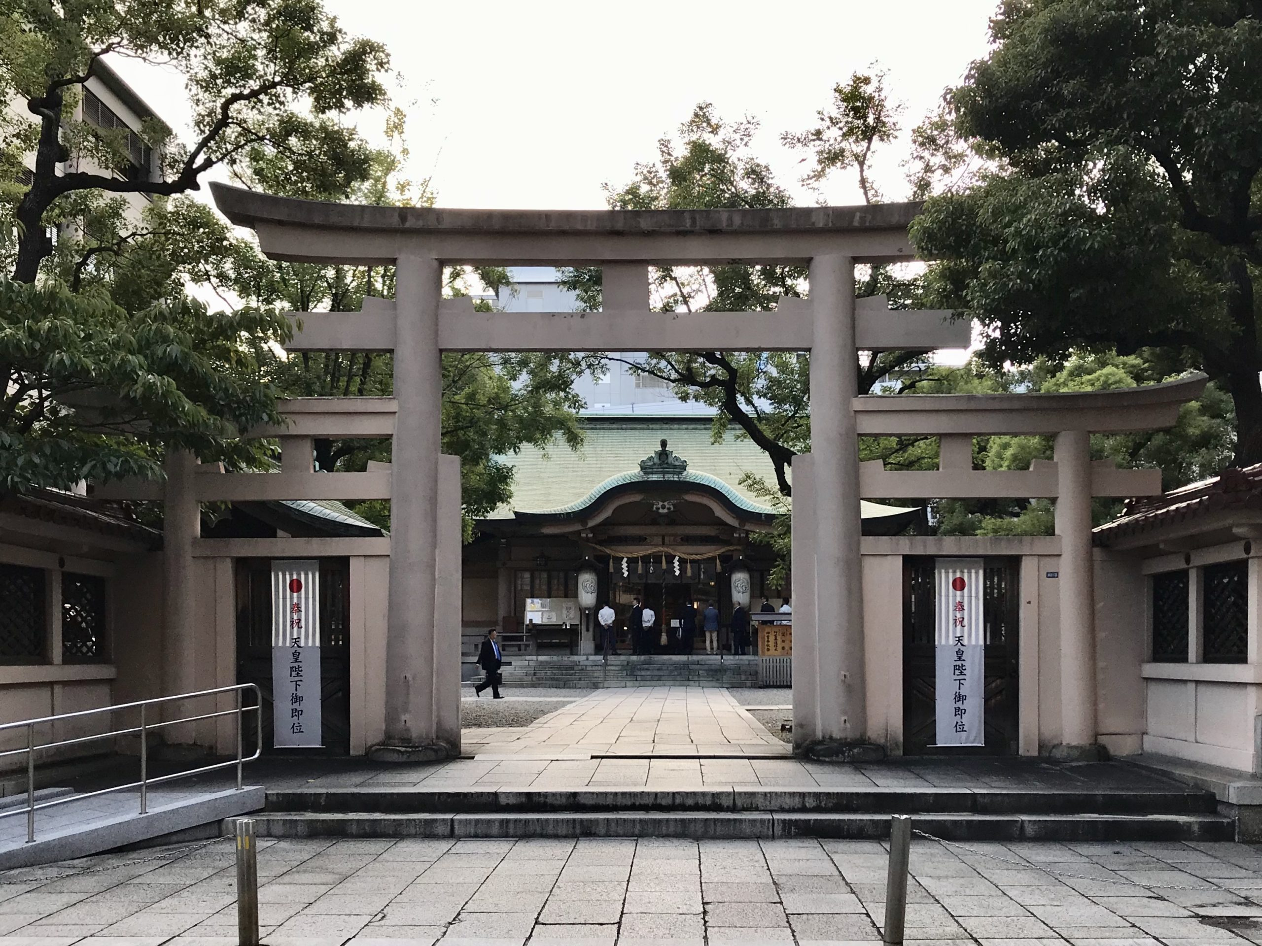 坐摩神社いかすりじんじゃ(大阪)