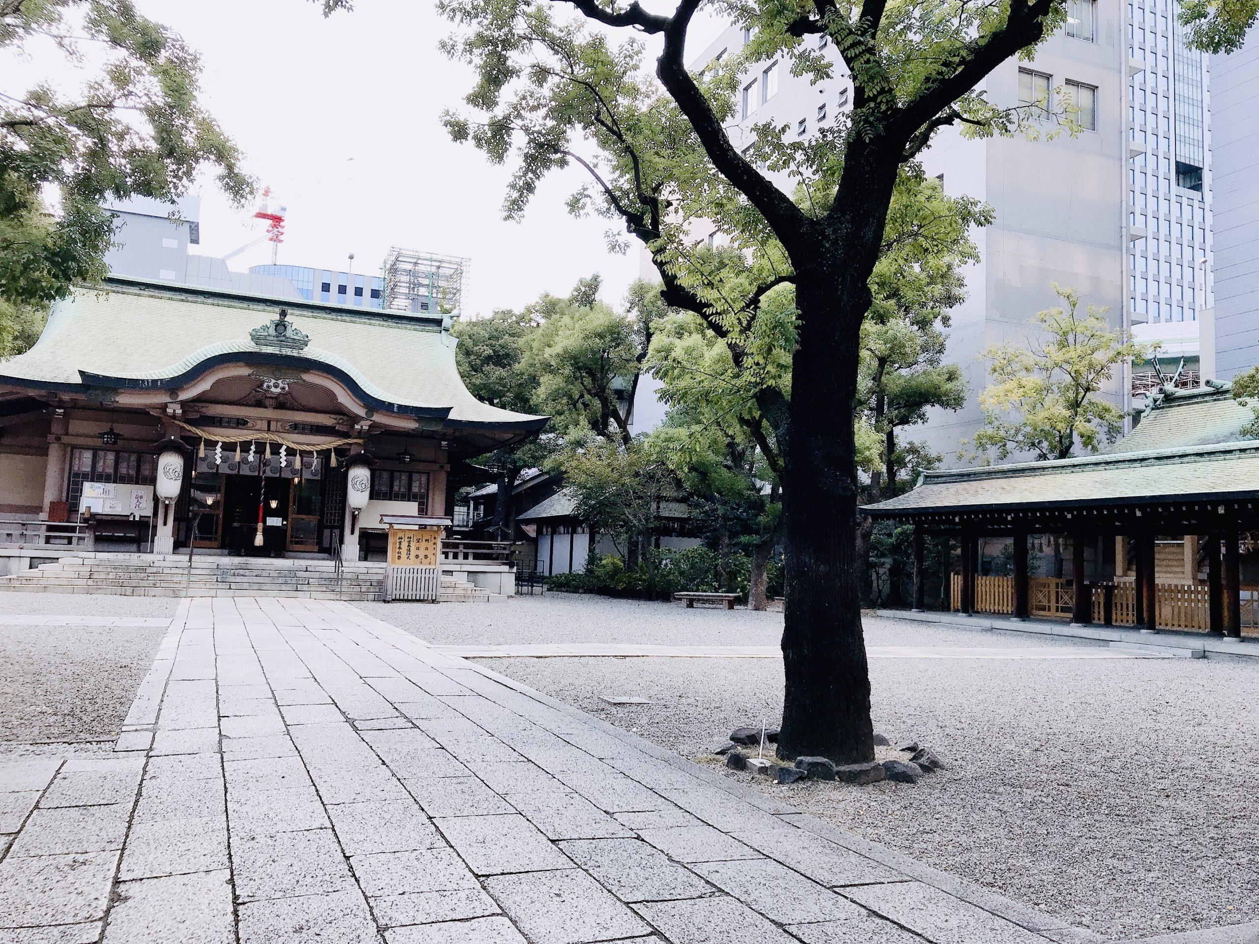 坐摩神社は大阪のパワースポット