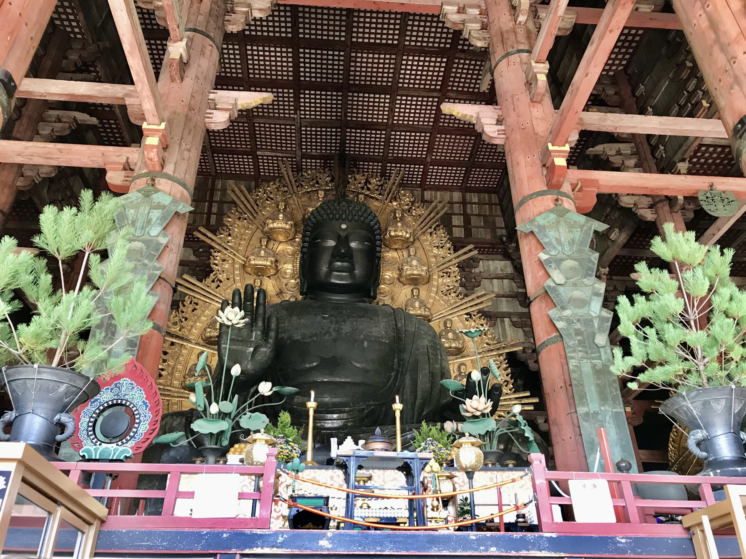 奈良東大寺の大仏様