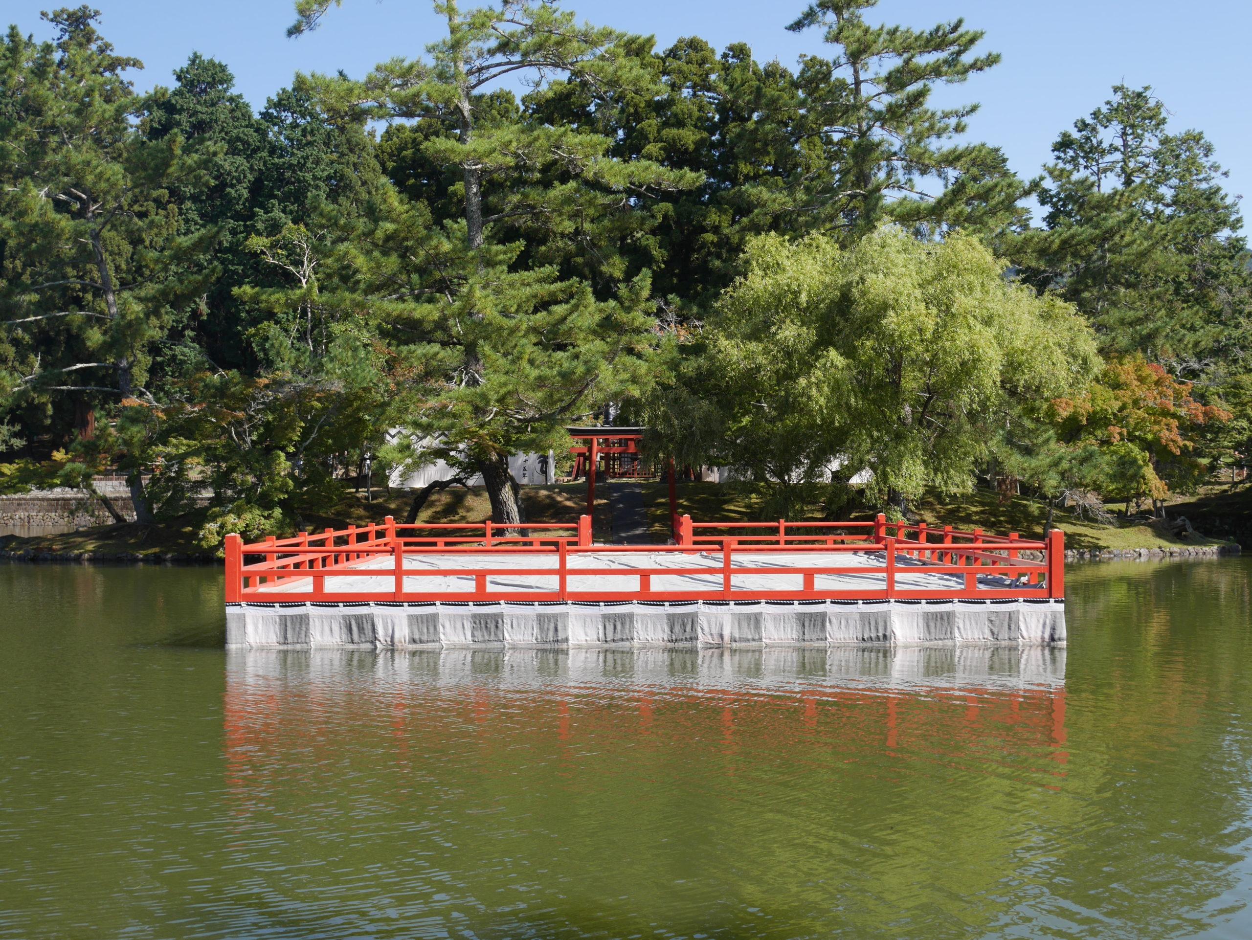 東大寺にある厳島神社