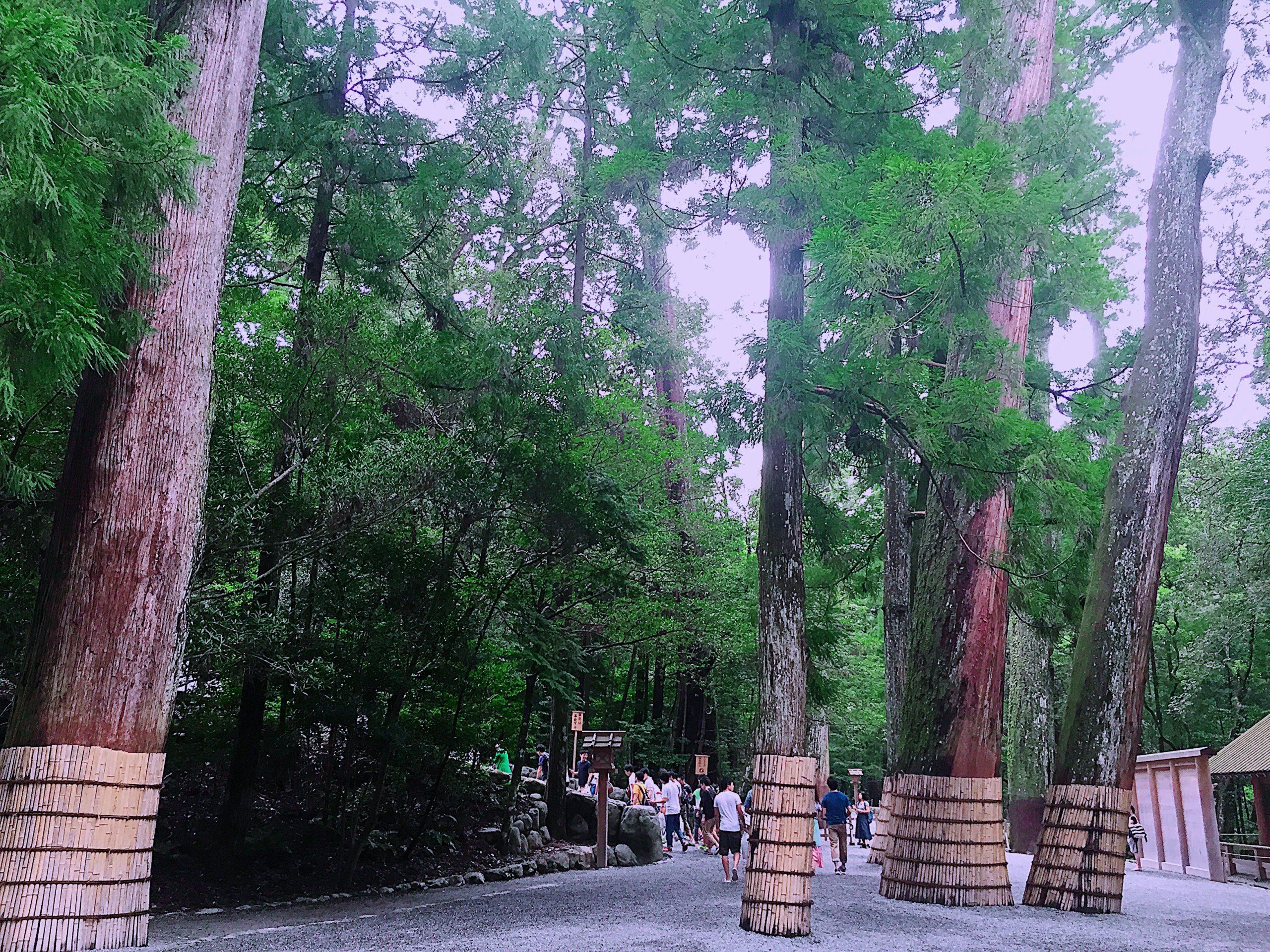 伊勢神宮内宮は日本最強のパワースポット