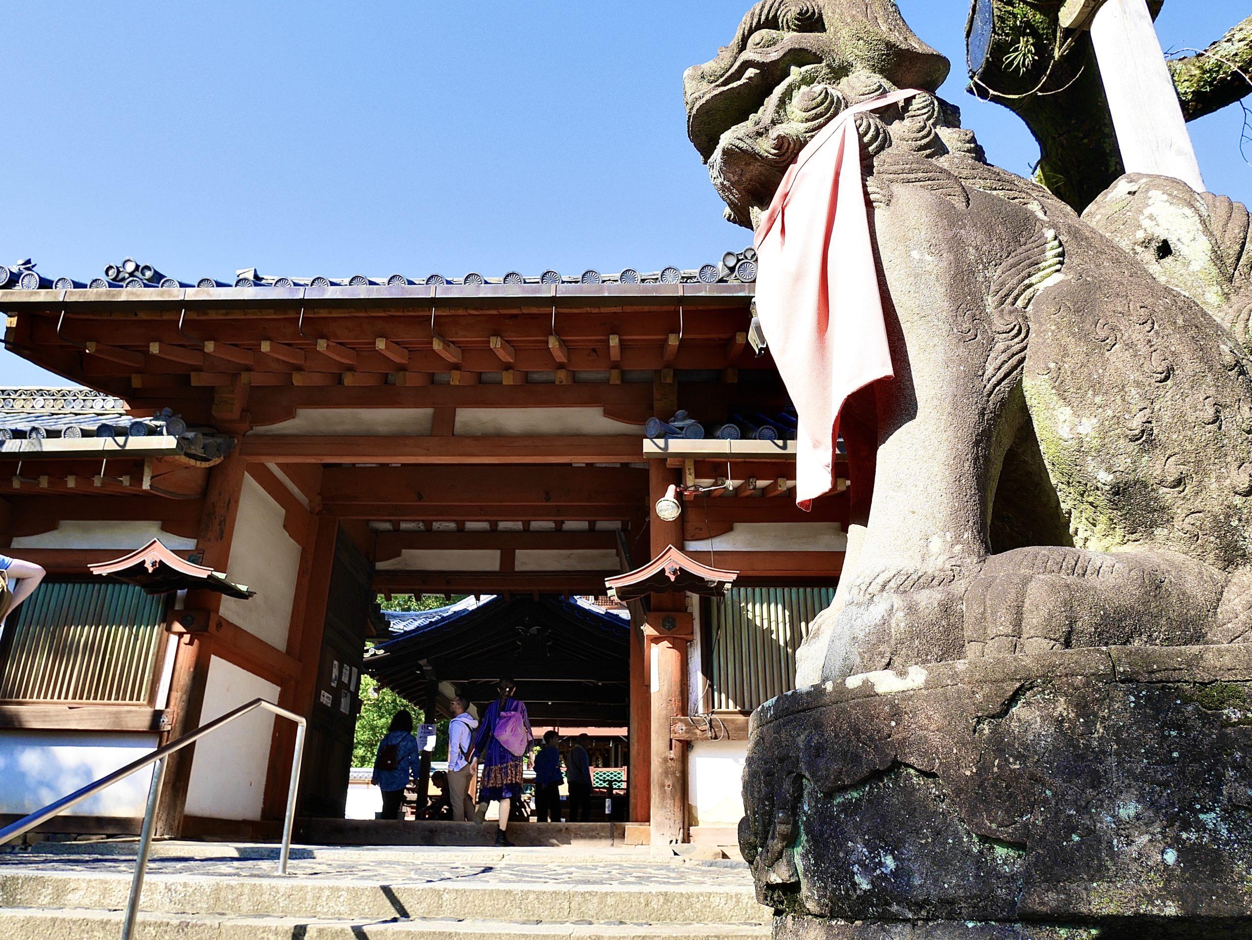 氷室神社の狛犬