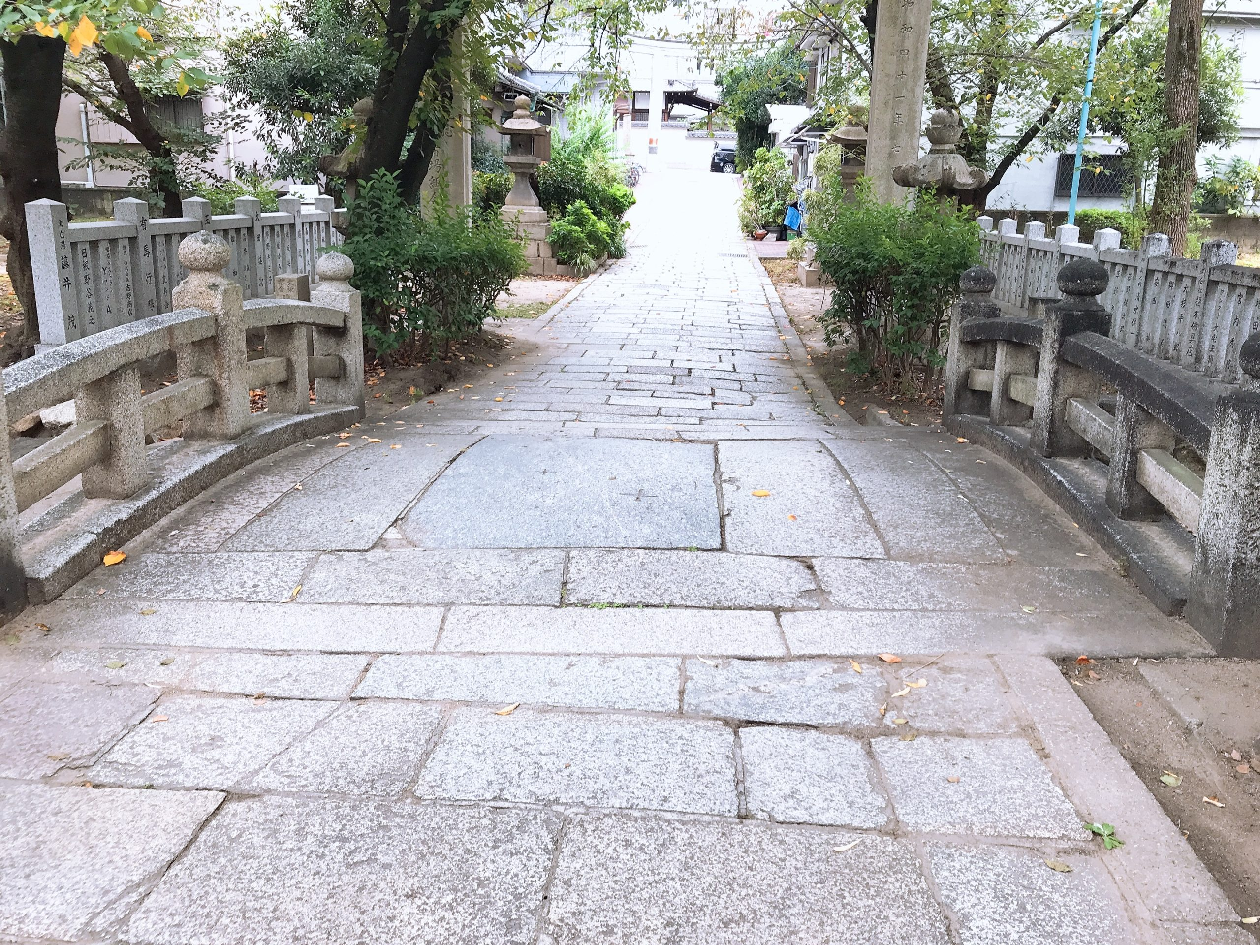 高津宮の梅乃橋