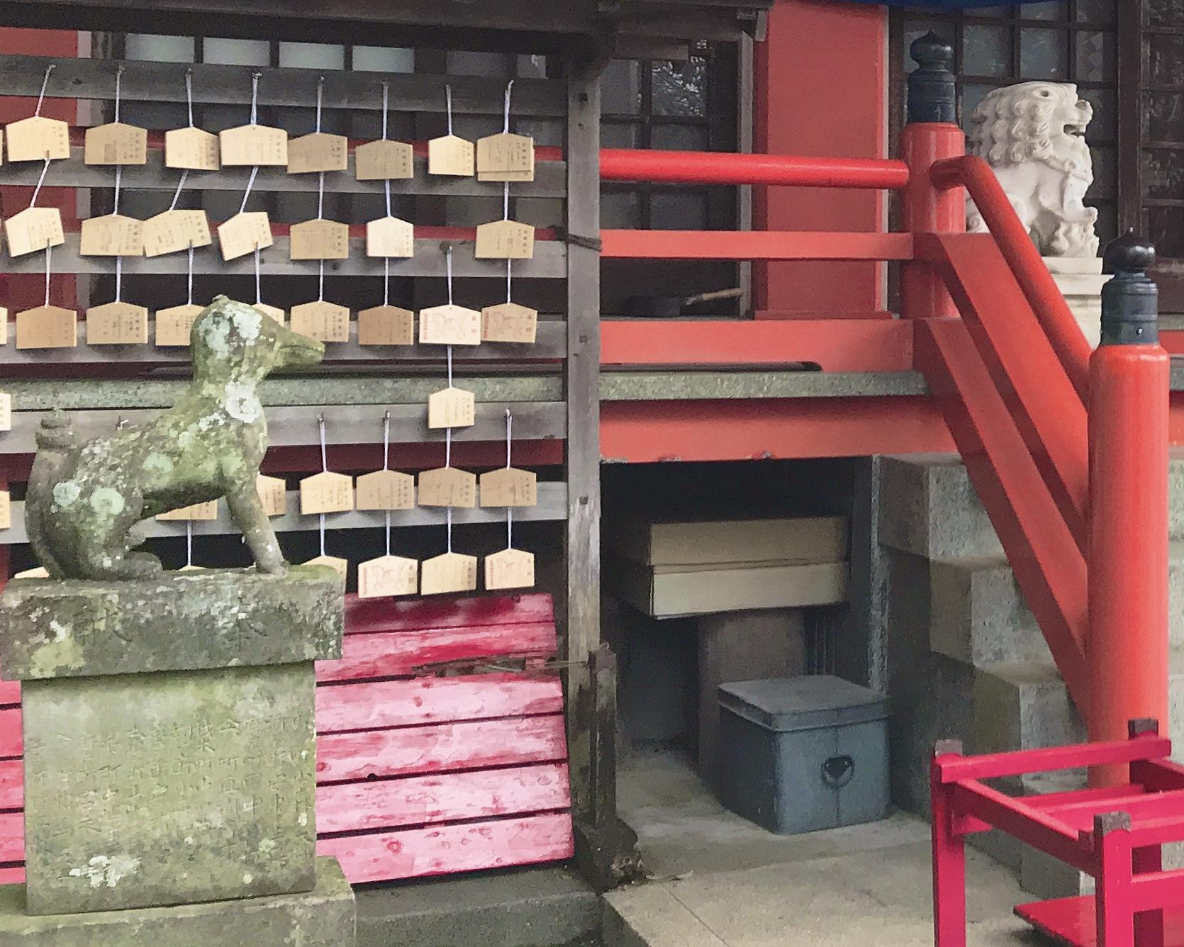 長崎祐徳稲荷神社の狛犬