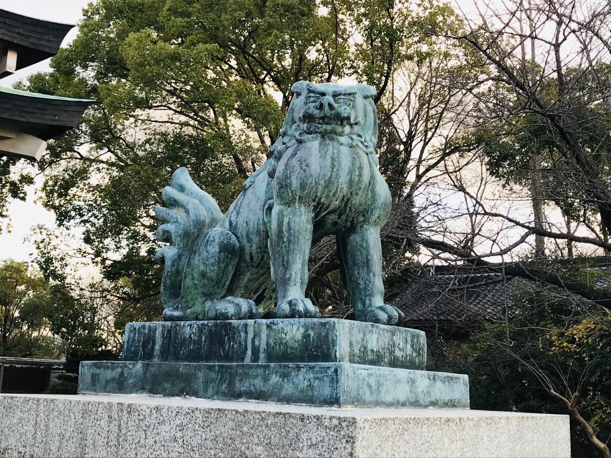 豊国神社の狛犬