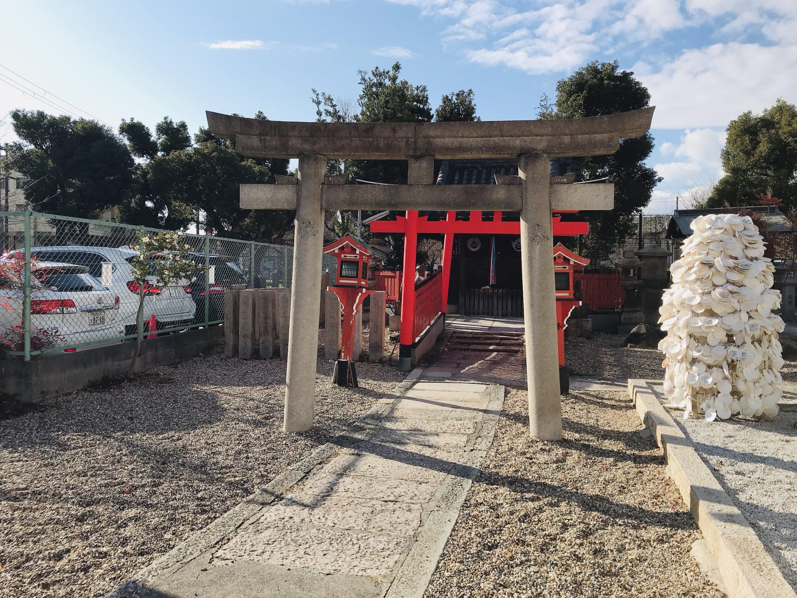 姫島神社の玉榮稲荷社