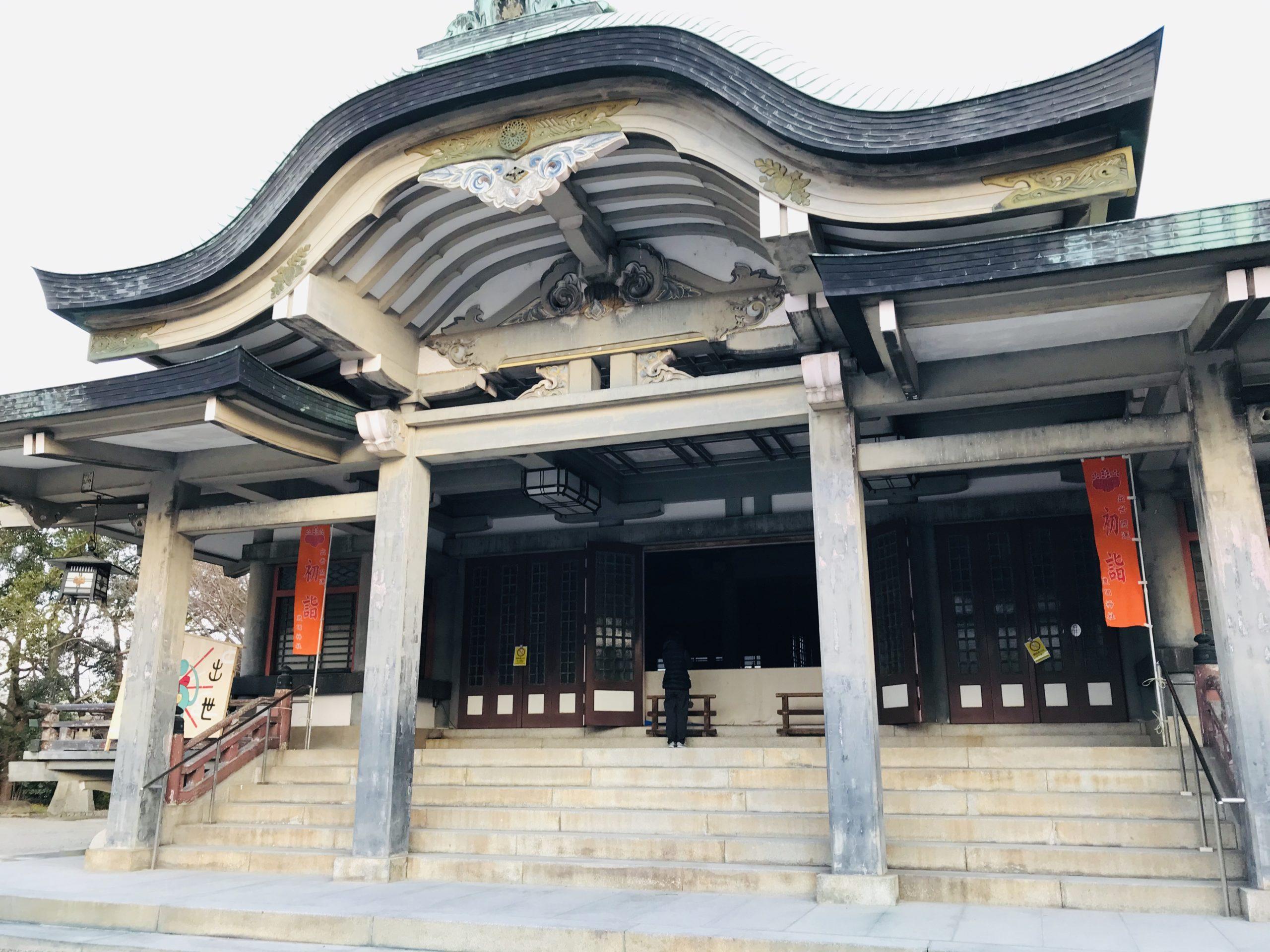 大坂城近くのパワースポット