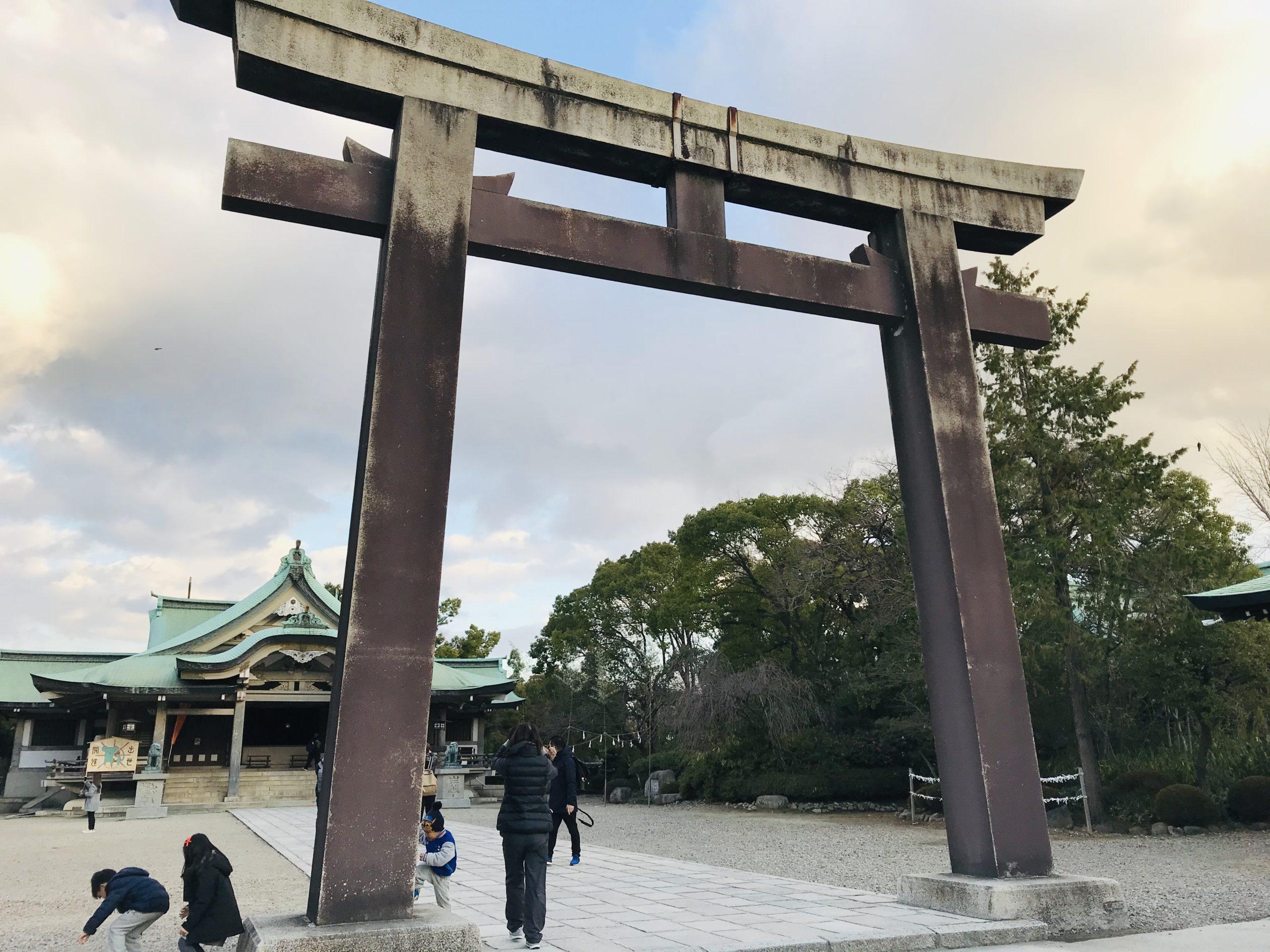 大阪城近くで御朱印神社巡り