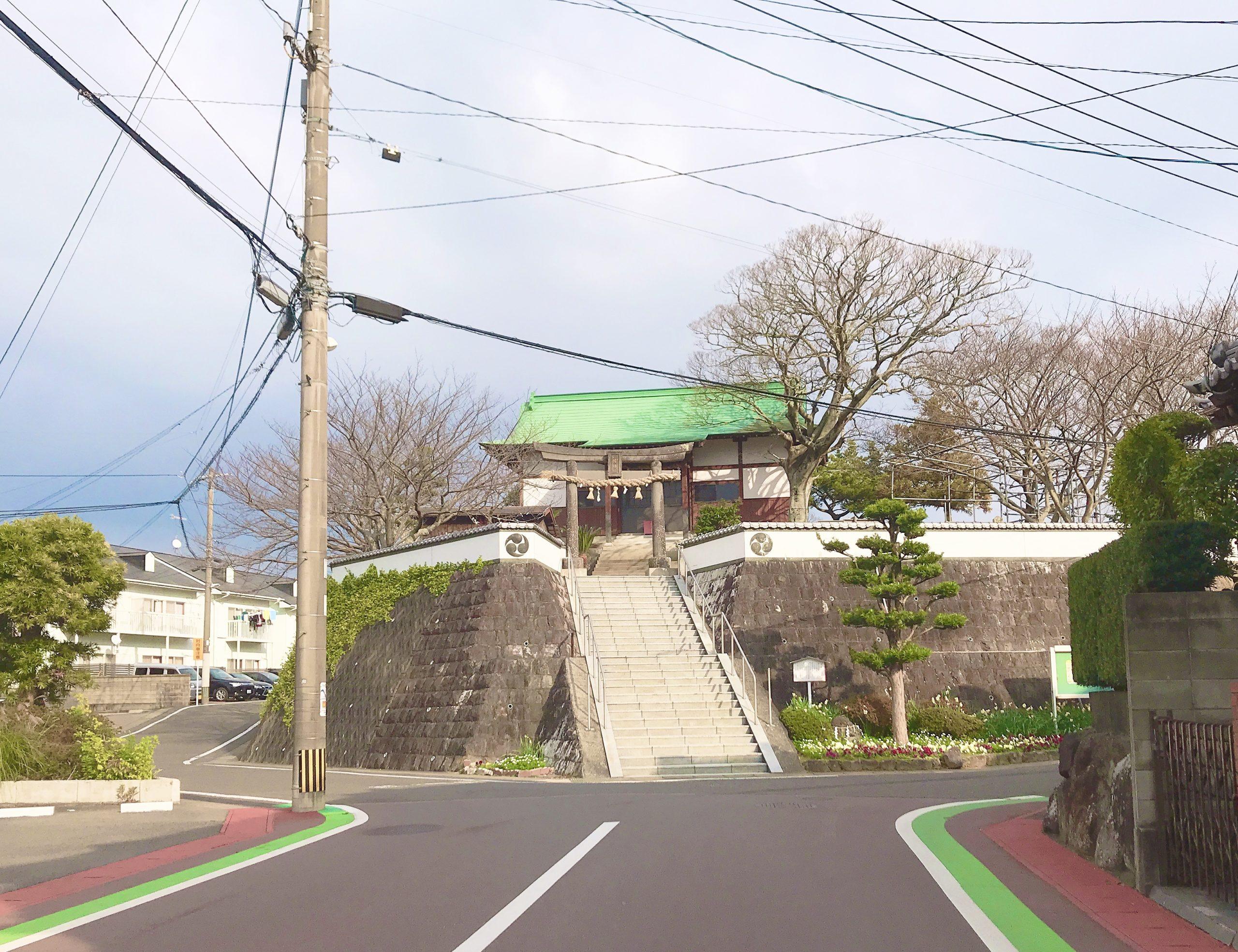 長崎時津町にある八幡神社