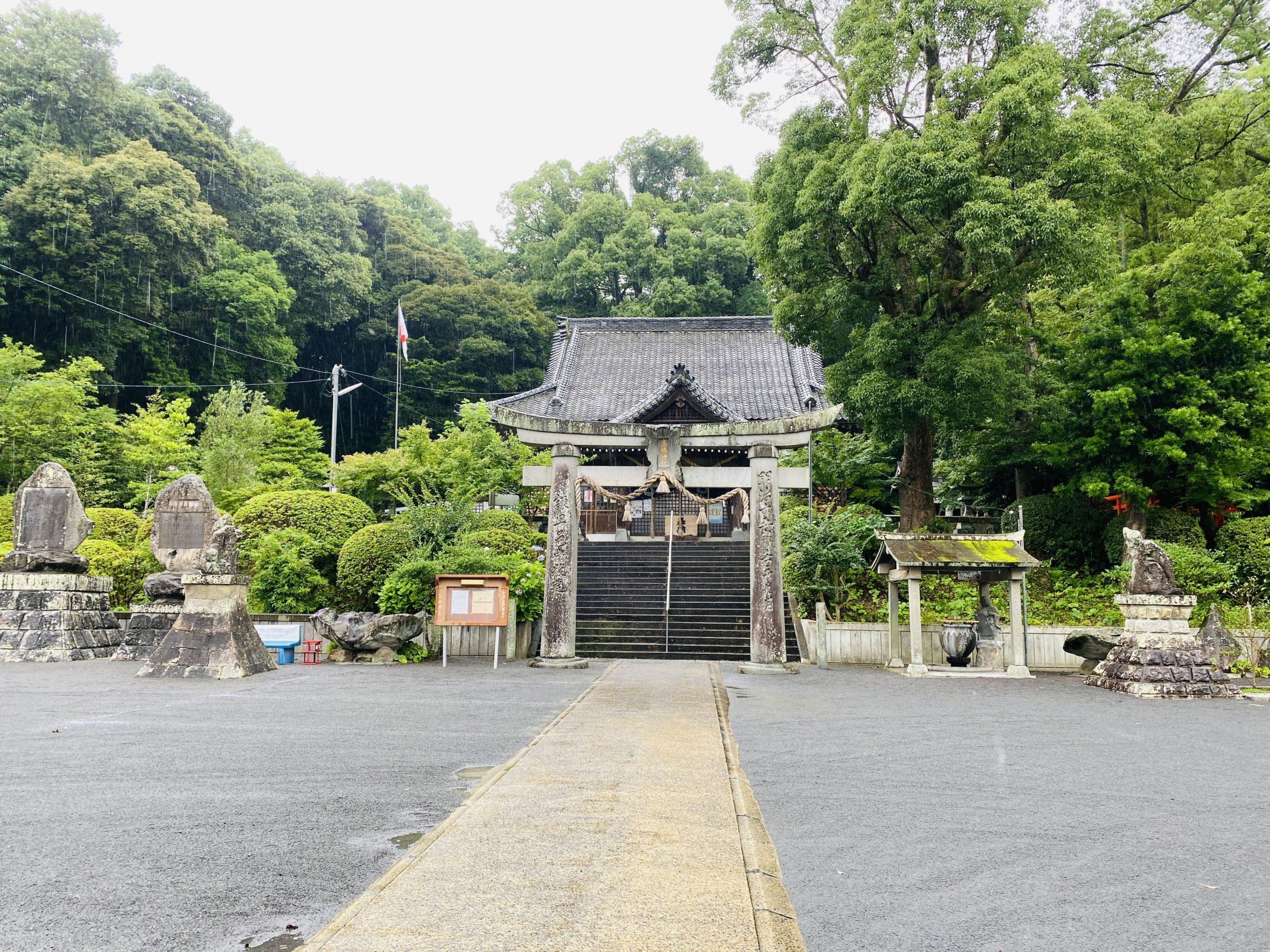 諫早神社巡り!高城神社