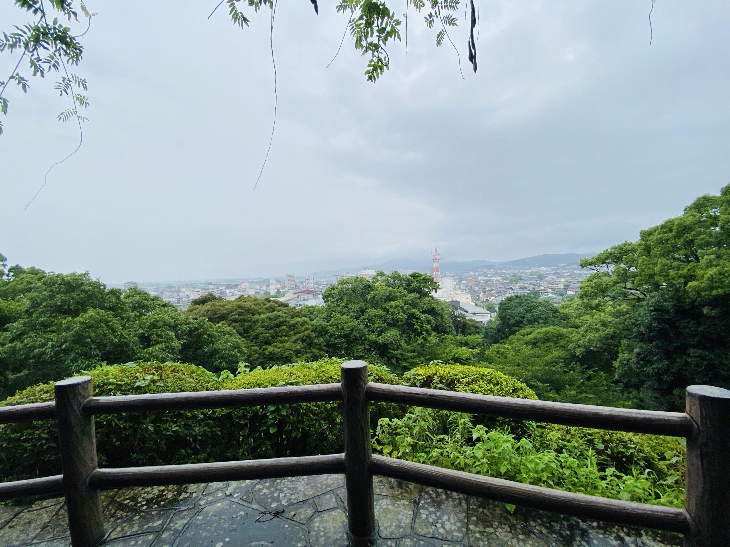諫早公園とお城跡