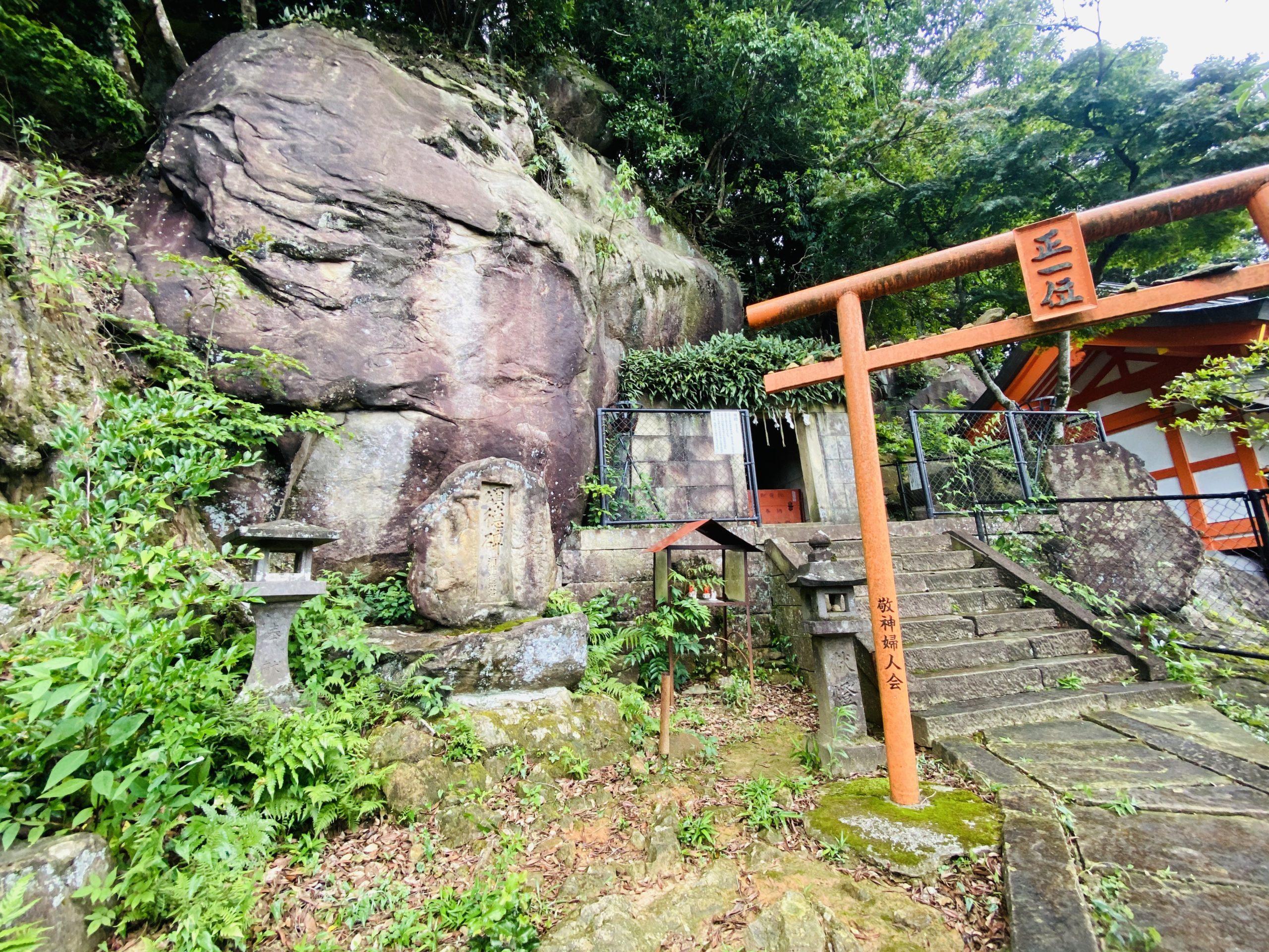 御館山神社の奥殿はパワースポット