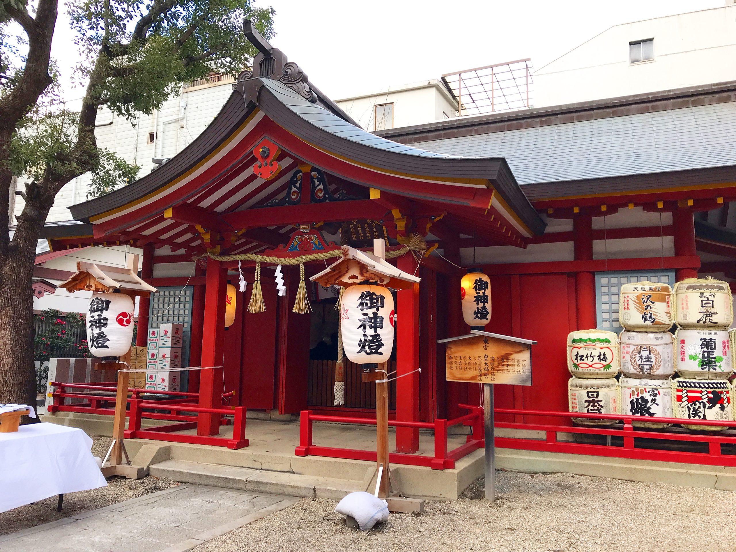 御霊神社の東宮