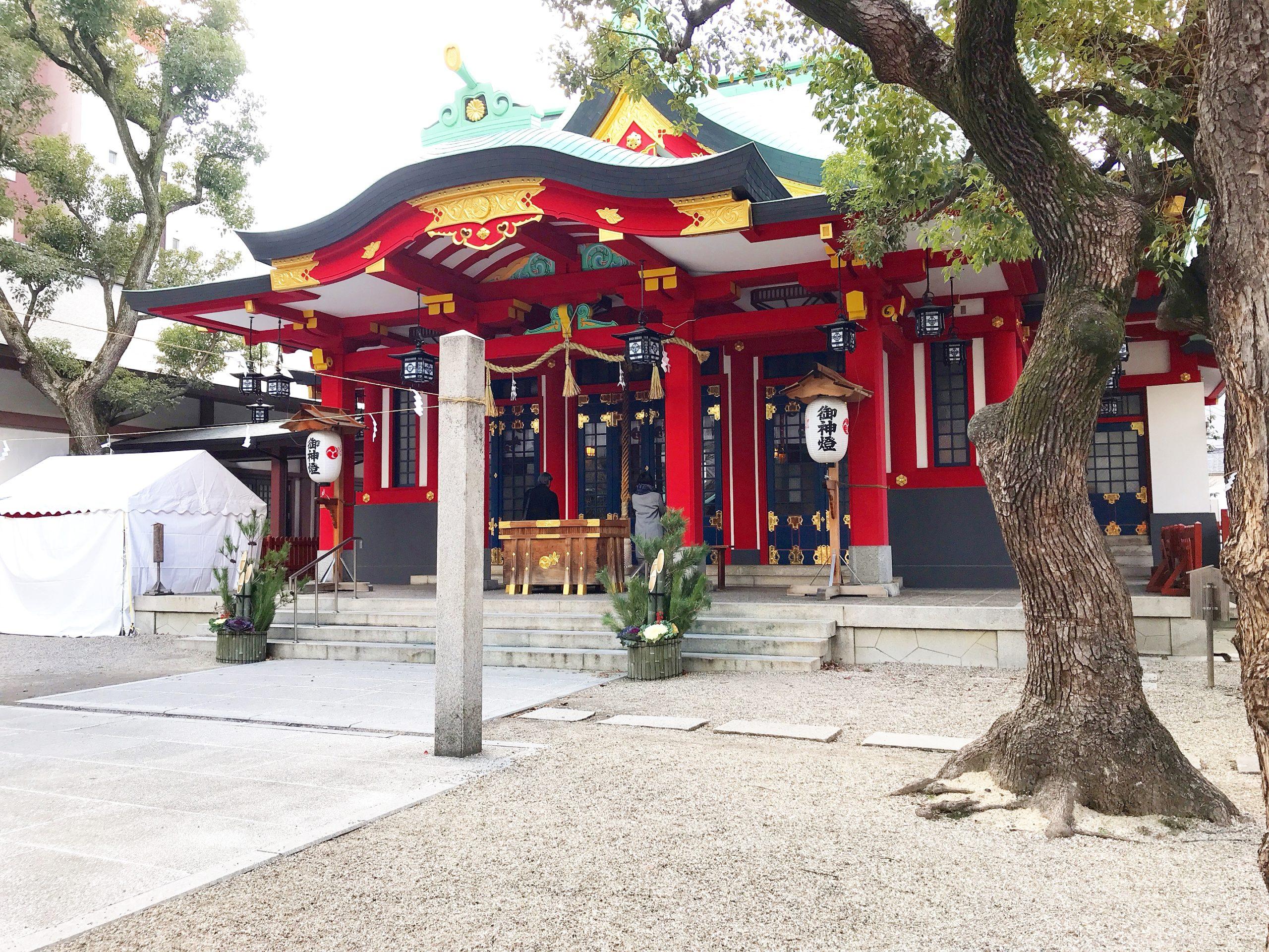 御霊神社ー大阪