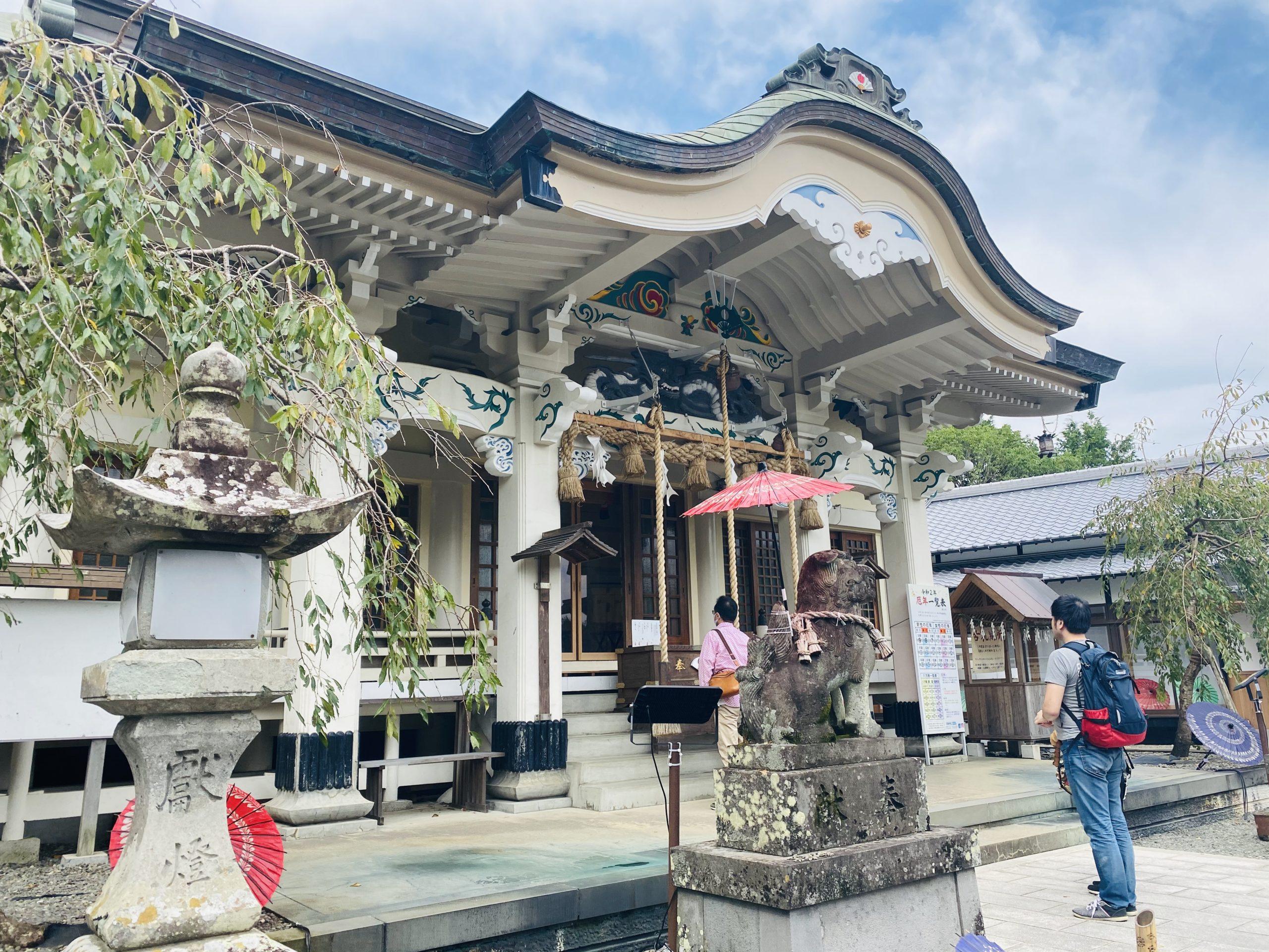 武雄神社の歴史