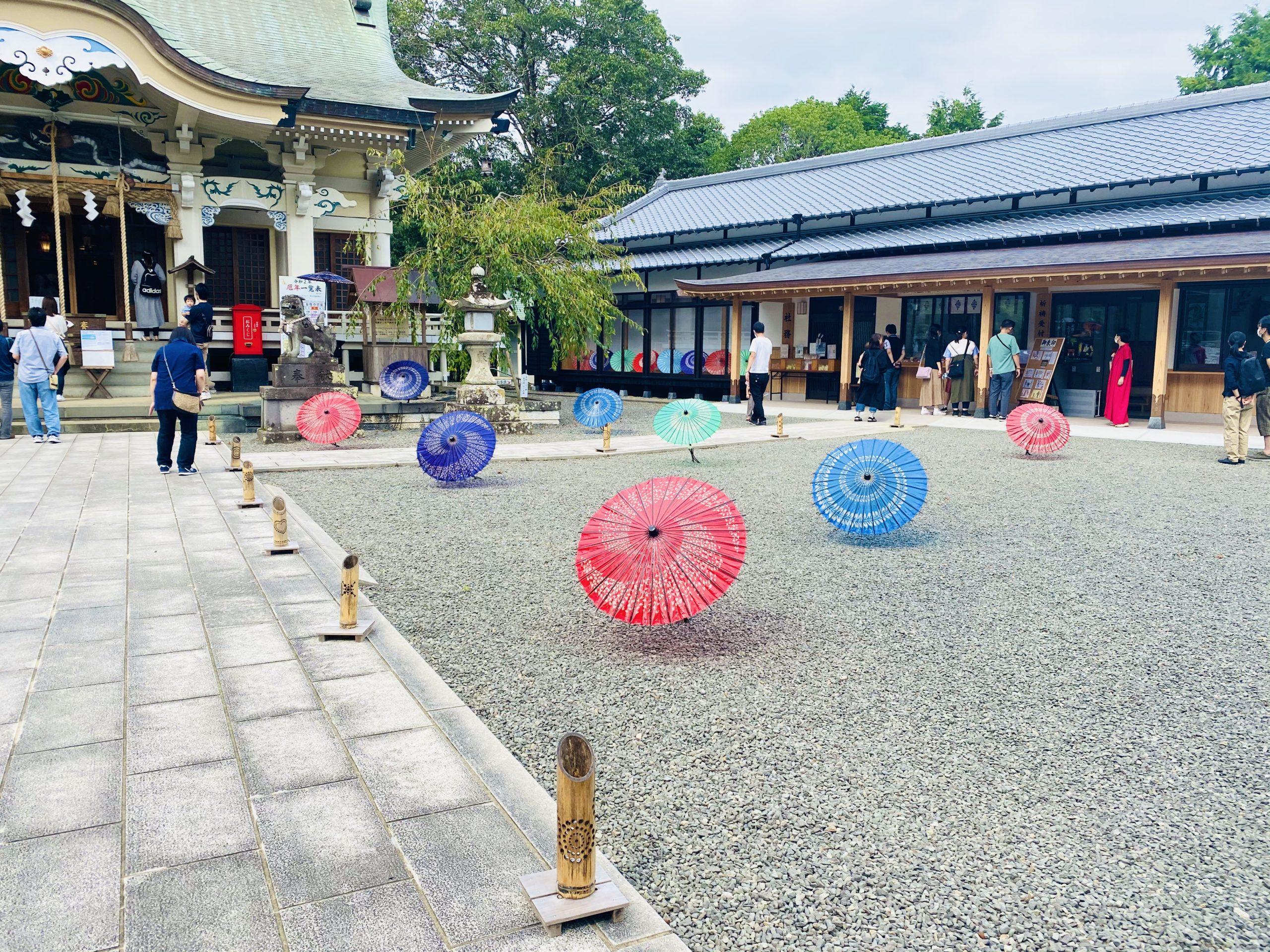武雄神社のライトアップ