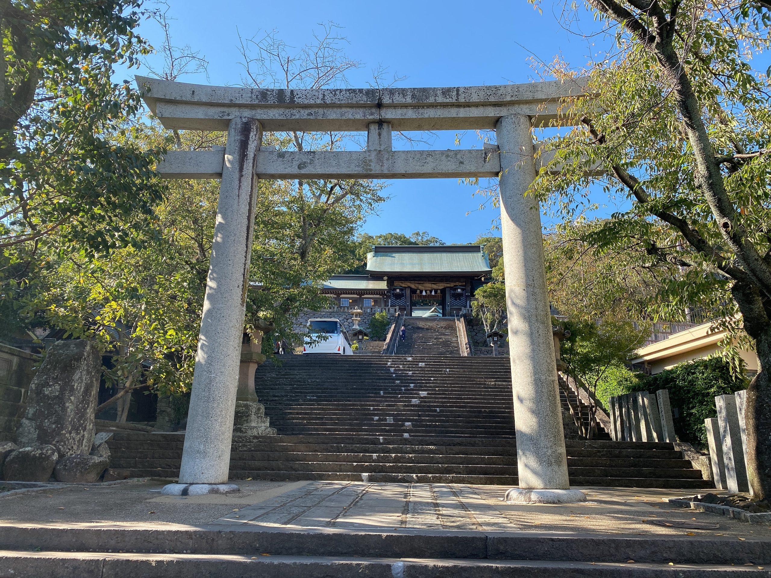 長崎のパワースポット諏訪神社へ
