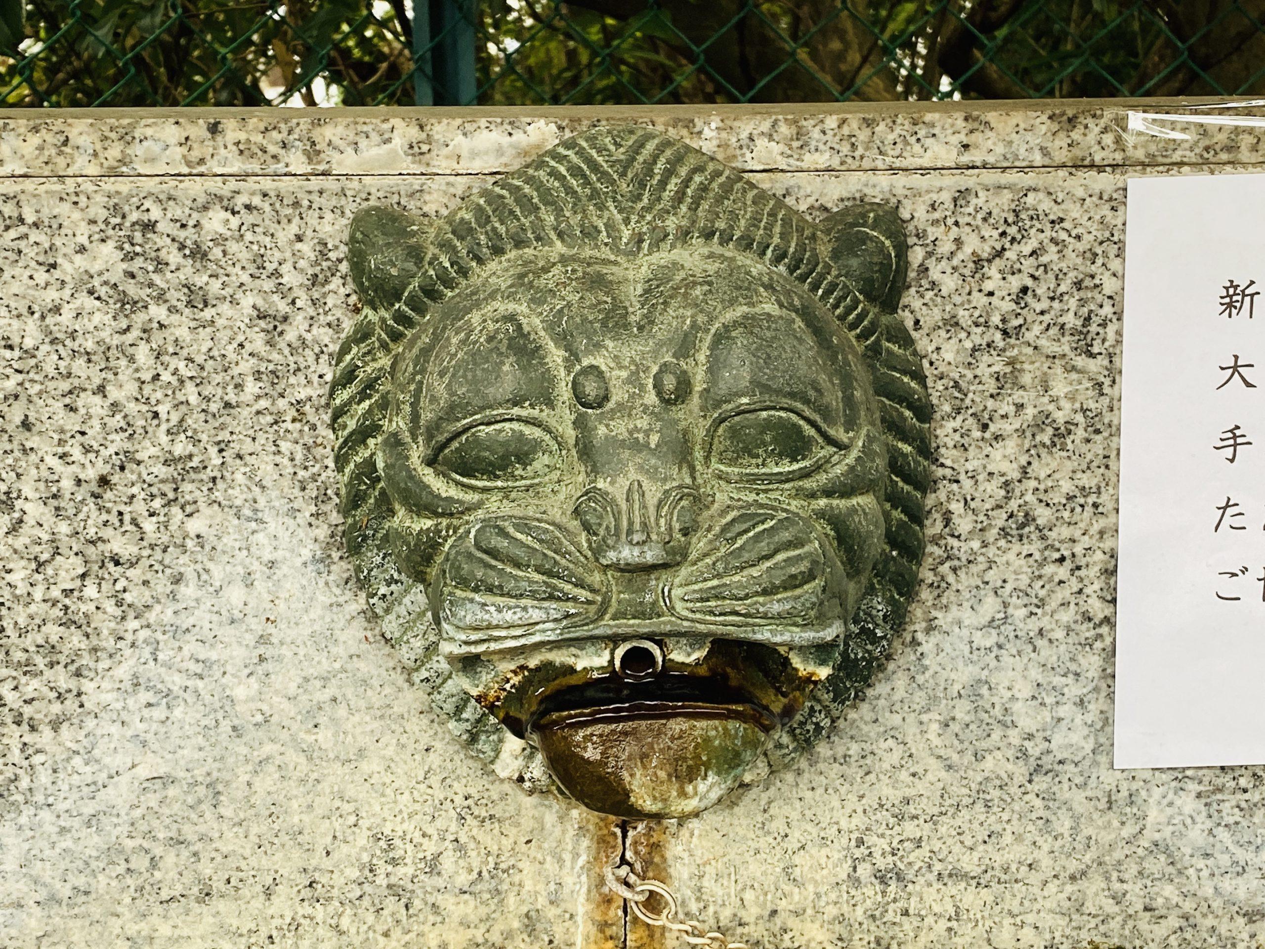 住吉神社の手水舎