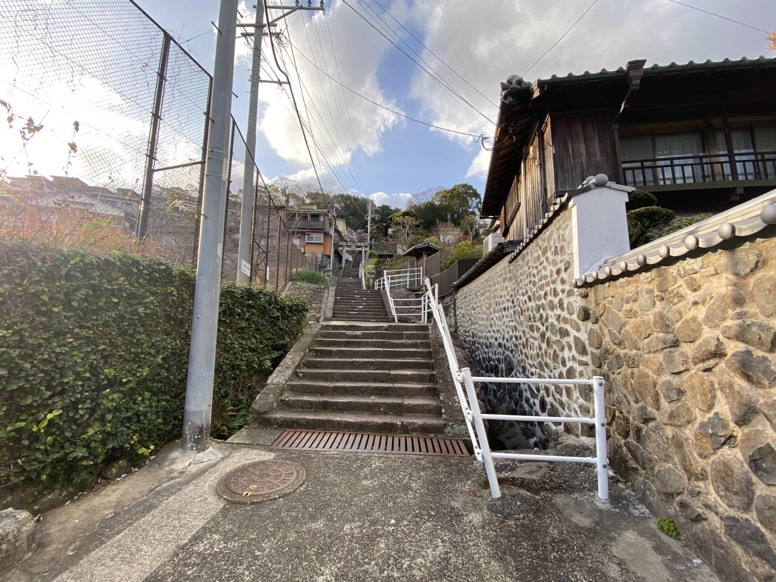 長崎西山神社へのアクセス