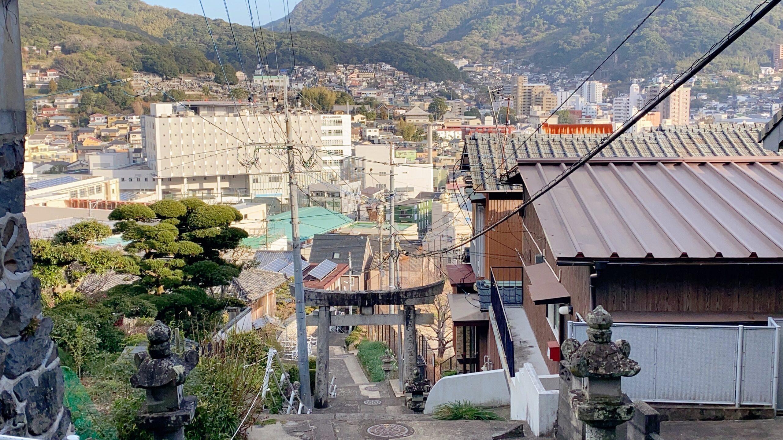 西山神社へのアクセス